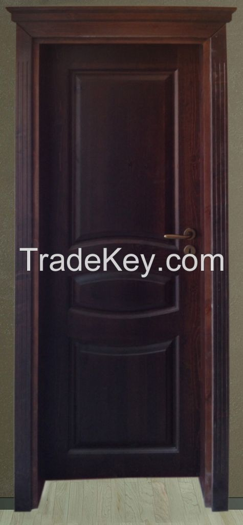 Solid wood interior door IVM001