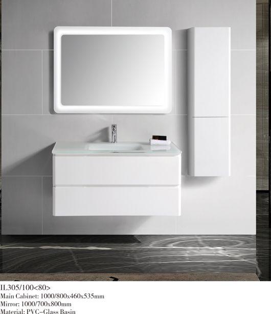 CE10 PVC wall mounted bathroom vanity/bathroom cabinet/bathroom furniture
