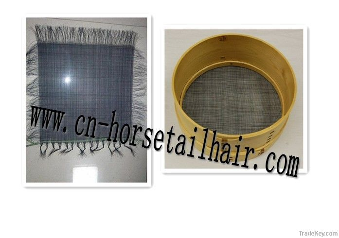 horse hair sieves