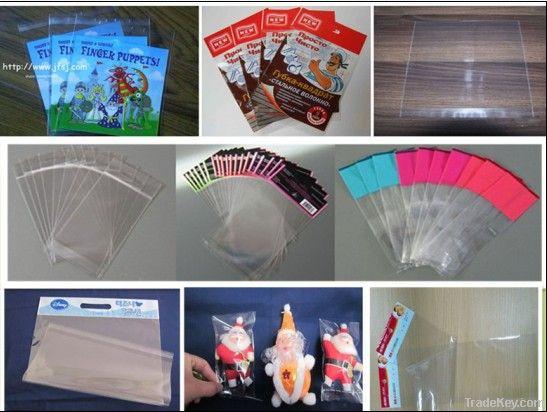 Printed OPP self adhesive sealed bags