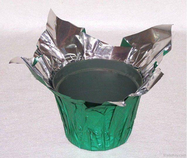 Plastic Pot cover, Plant pot cover, foil pot cover