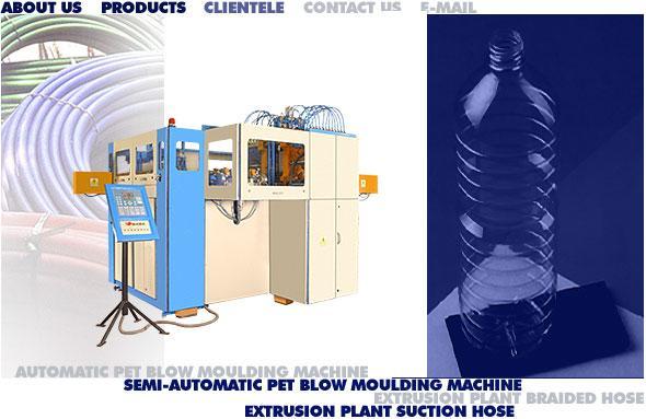 pet stretch blow mould machine injection mould machine