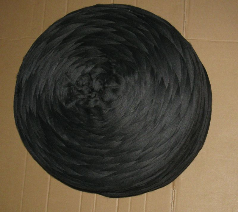black carbon inside conductive polyester/nylon based  TOPS sliver 3D*76mm for wool spinning woolen overcoat-XTAA020