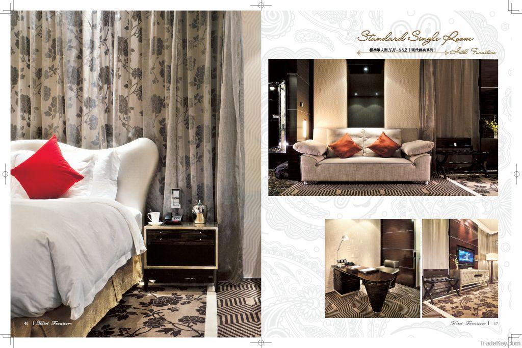 WoodHotel Furniture, Ottoman, Dresser, Mirror, Desk, Chair, TV Stand, Console