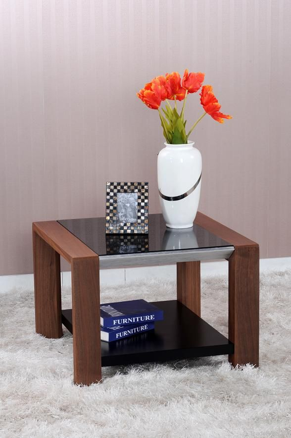 Modern wood Coffee Table, High glossy Coffee Table, MDF Cocktail Table