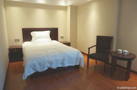 Wood Modern Hotel Furniture, Bed, Dresser, Mirror, Desk, Lounge sofa, Cabint