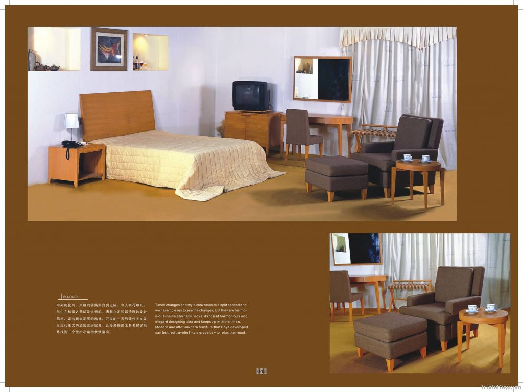 Hotel Furniture, Bedroom Furniture, Headboard, Mattress, Luggage Rack, Desk