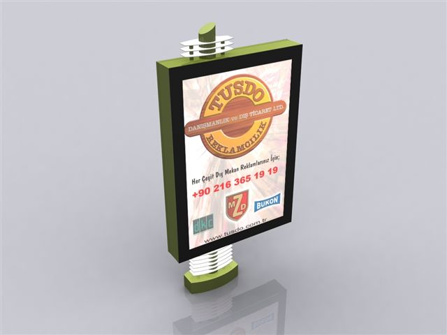 display moving sign and advertisement materials