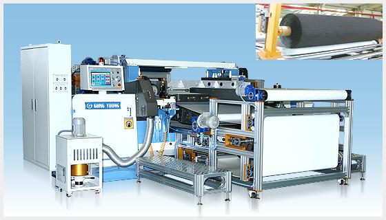 Rubber foam cutting machine