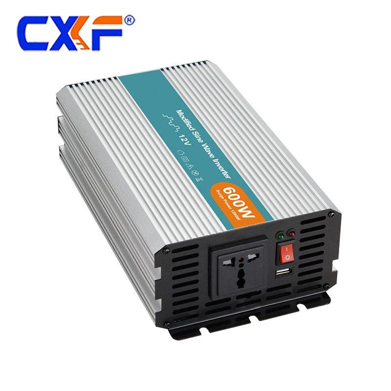 600W 12V 24V 48V dc to ac 110V 220V Power Inverter
