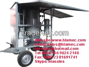 Mobile Trailer Transformer Oil Purification Systems