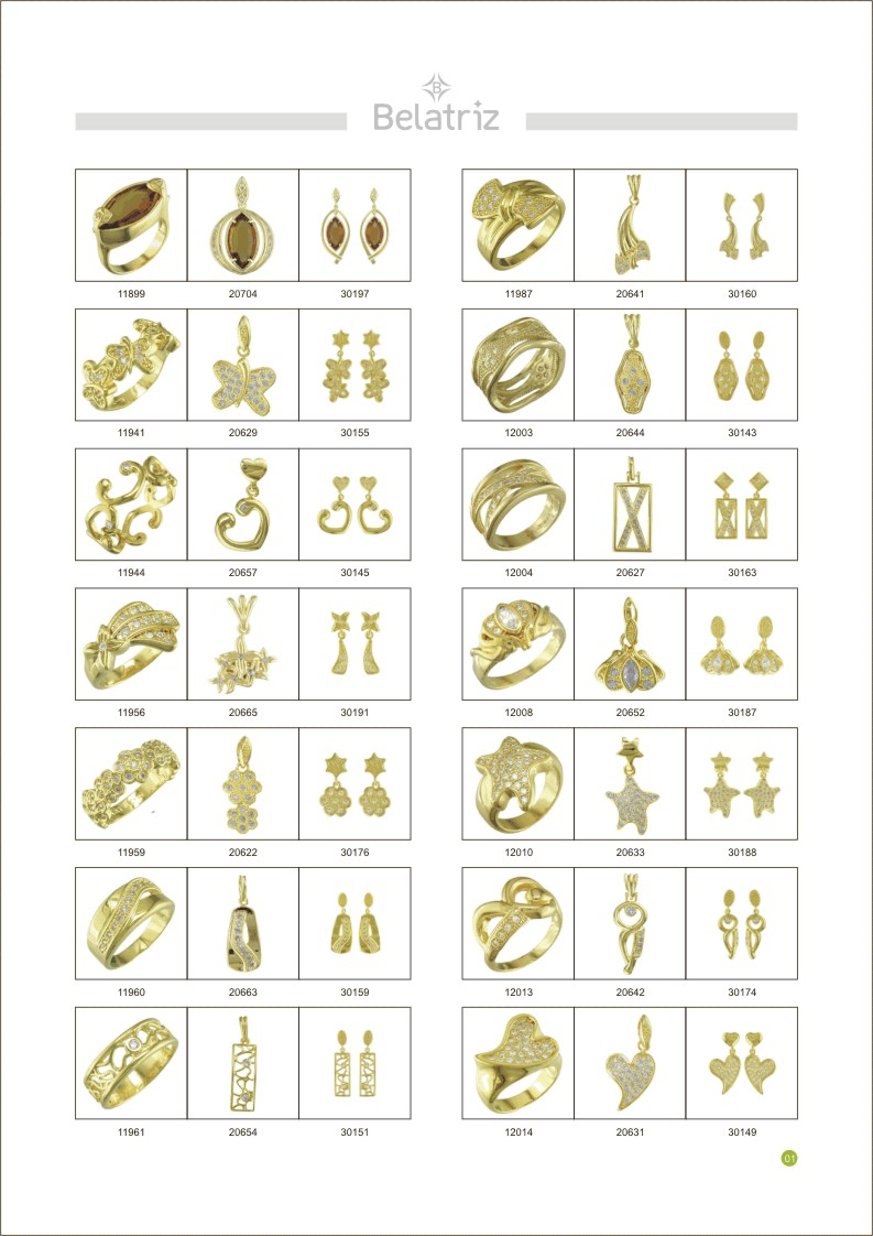GOLD PLATED AND SILVER 925 JEWELRY