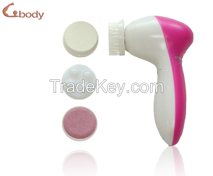 Electric Facial Brush Massager 4 in 1 Rotating