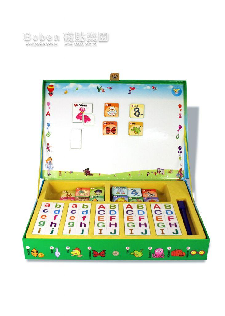 Learn English Teaching Educational Magnetic Box