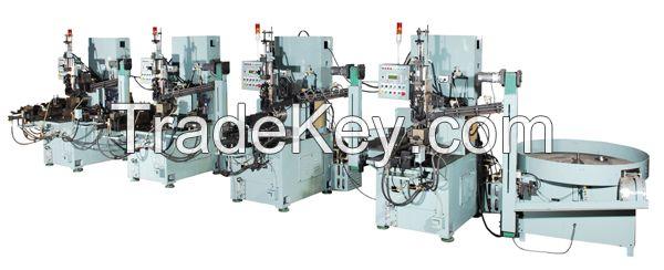 Ball bearing automatic turning lathe machine production line
