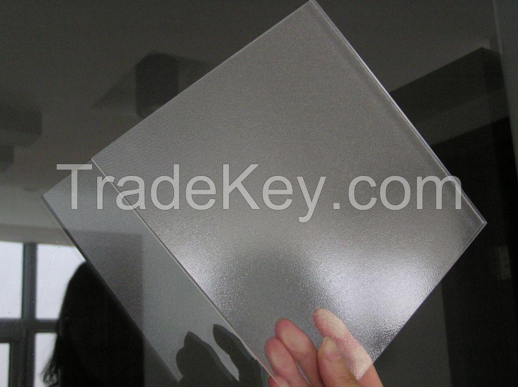 low iron prismatic/matt solar glass, ultra clear float glass