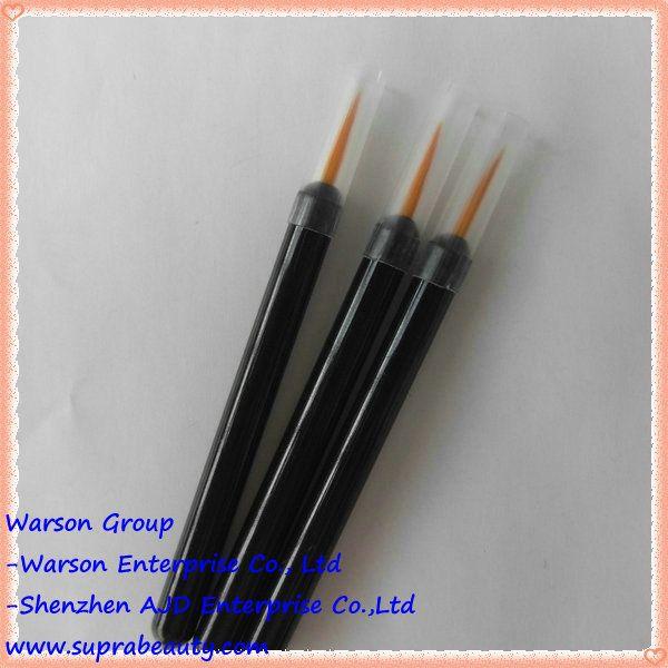 Nylon hair disposable cosmetic applicators