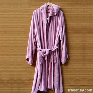 100% cotton bath robe