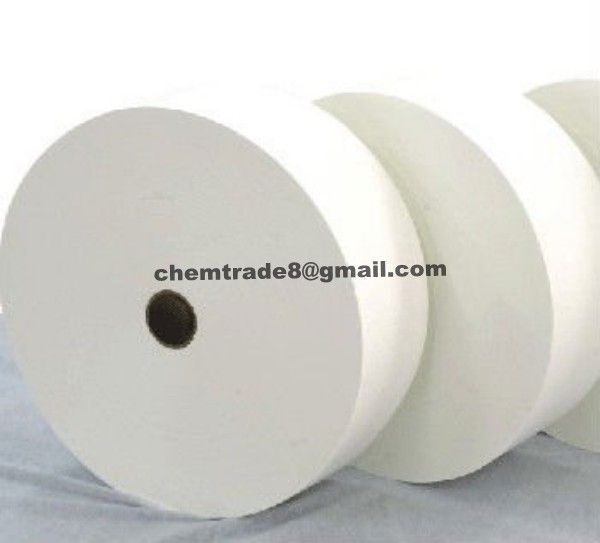 air-through boned nonwoven fabric