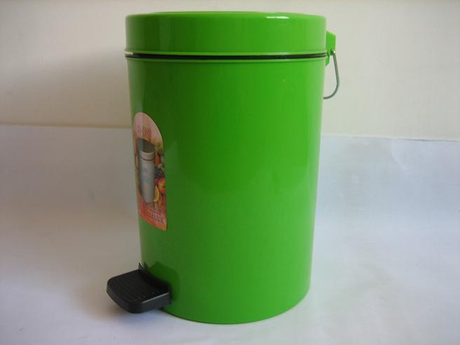 Wholesale Brand New Green Plastic Dustbin