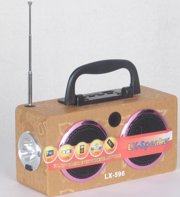 Emergence Speaker With FM Radio (LX-596)