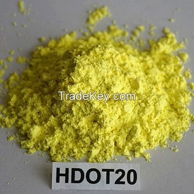 Insoluble Sulfur (Insoluble sulphur) HDOT20, CAS No.:9035-99-8, High thermal stability