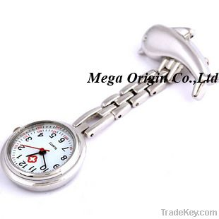 hanging nurse fob watch with chain