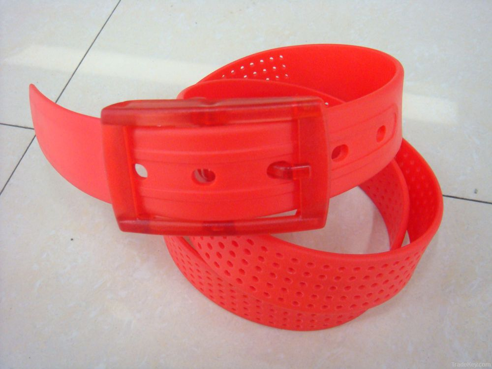 newly style silicone belt , with smell