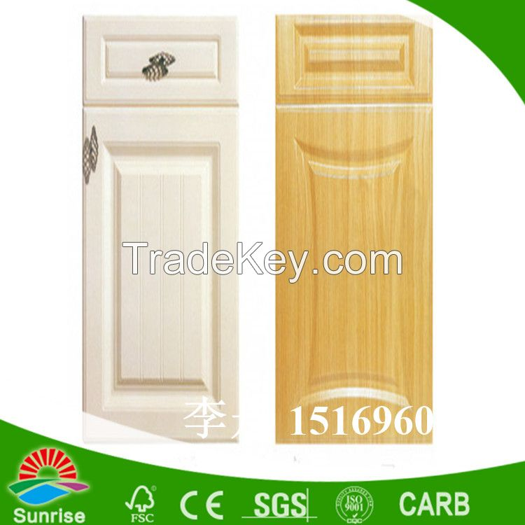 PVC blister doors for kitchen cabinets