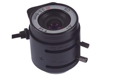 Auto Iris 3.5-8mm IR lens