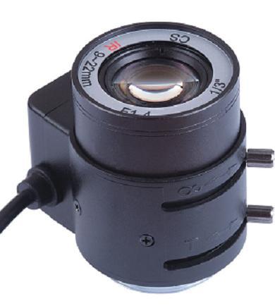 Megapixel Auto Iris 9-22mm IR lens