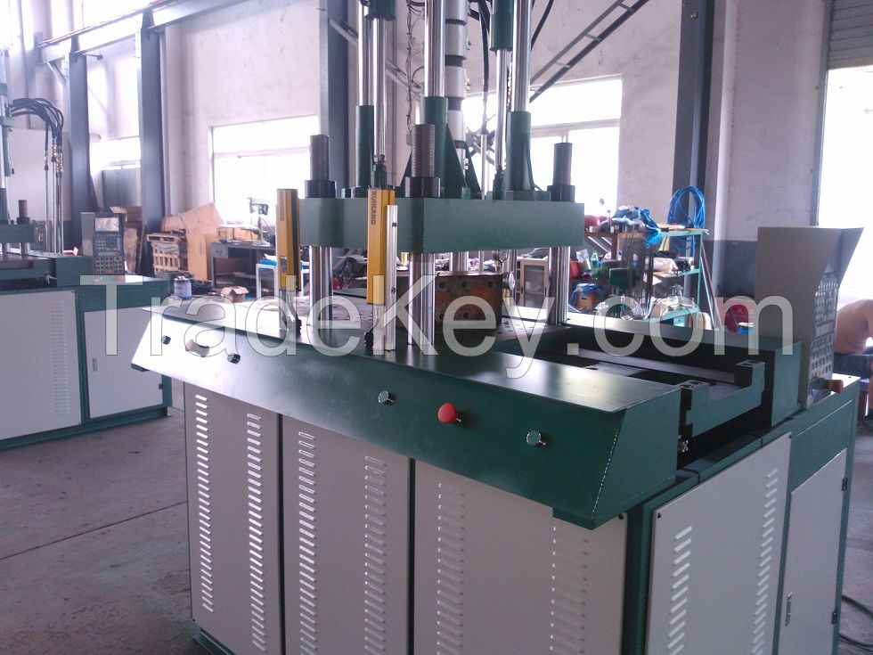 double shuttle table injection molding machine 85ton
