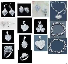 925 Sterling Silver Jewellery  (Ring | Necklace | Earing | Pendant | Sets)