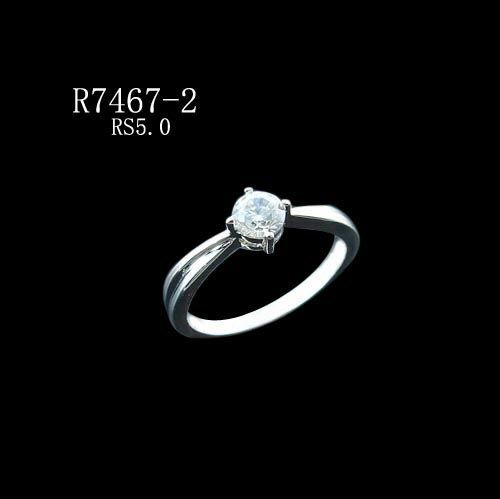 Cubic Zirconia Ring (CZ Diamond)