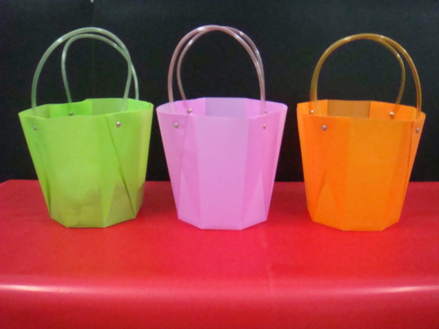 octo vase flower bag