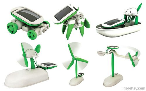 Educational Solar Toy 6in1
