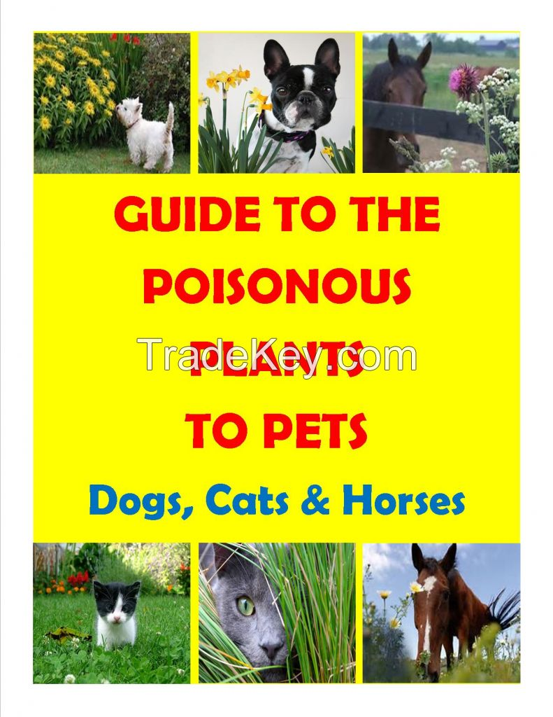 GUIDE TO POISONOUS PLANTS FOR PETS