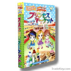 Supermarket Magnetic book (Box) for kids