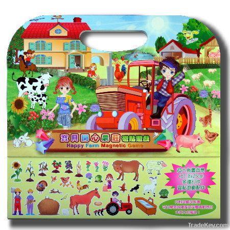 Magnetic educational playset(Handbag)