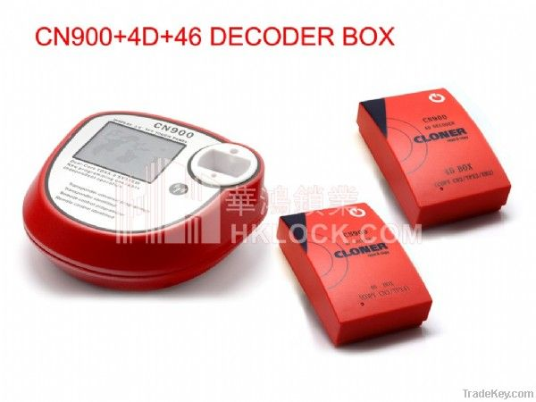 CN900 key programmer Master +4D cloner box +46 cloner box