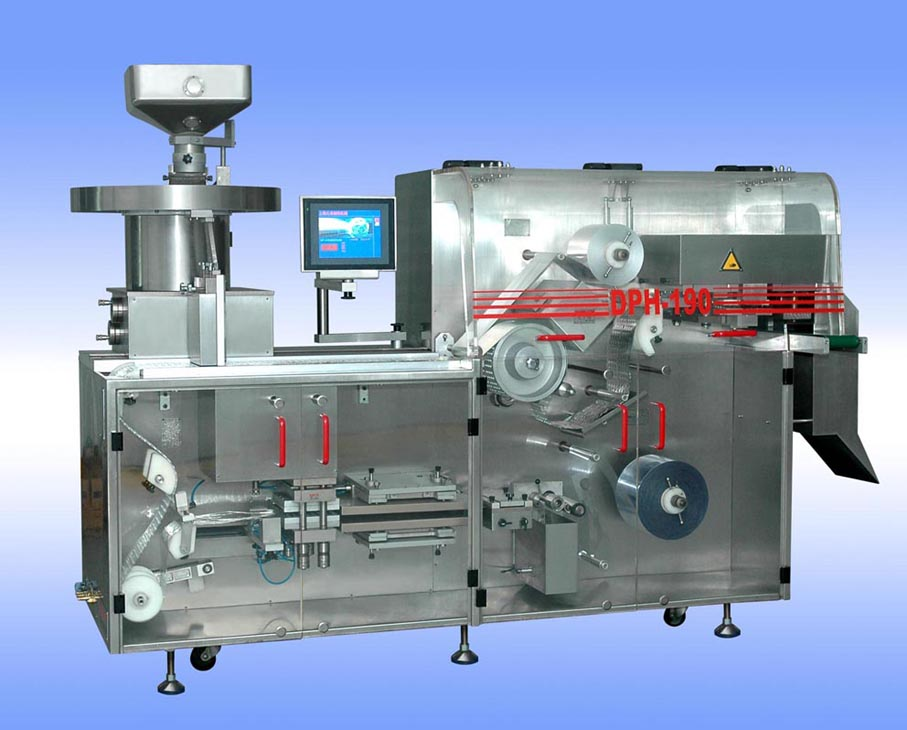 DPH190 AL/PL AL/AL Automatic High-Speed Blister Packaging Machine