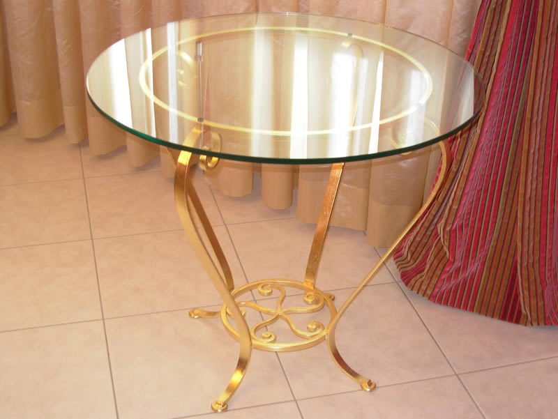 Wrought Iron Table Astoria
