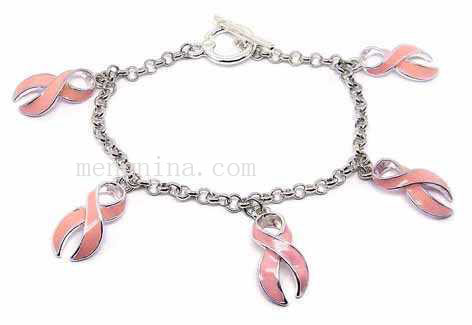 Breast cancer awareness bracelet(MBD00432)