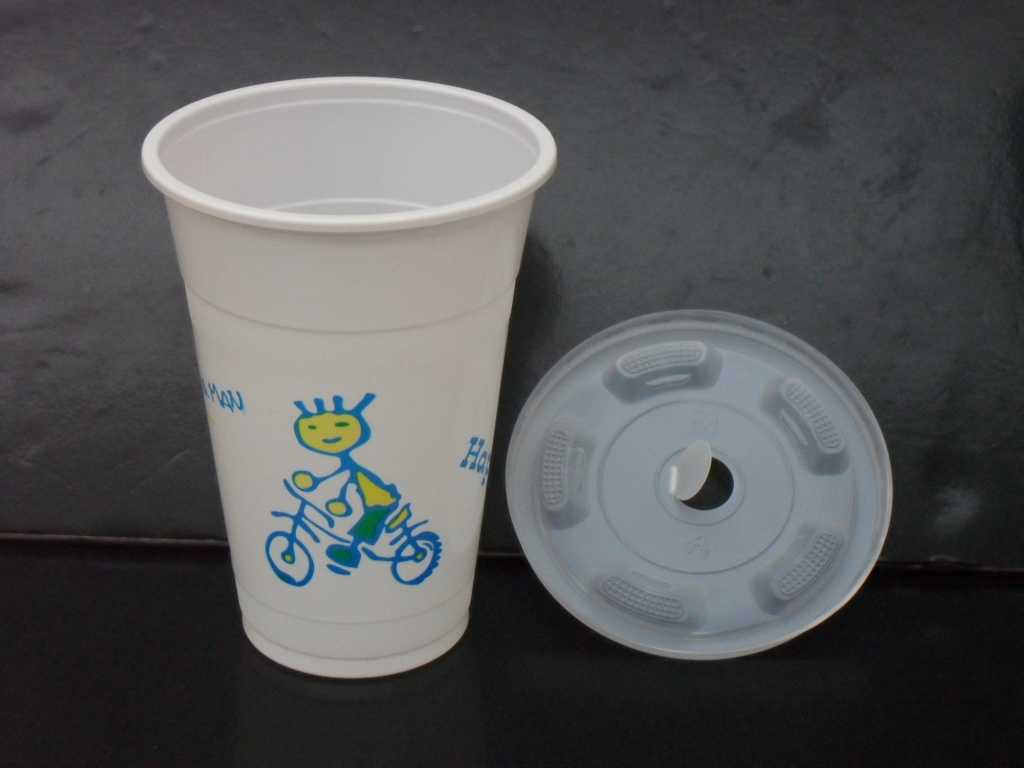 printed disposable plastic cups