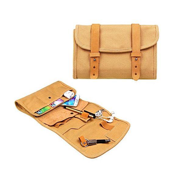 Multifunction carry organizor oxford handbag case for men and women