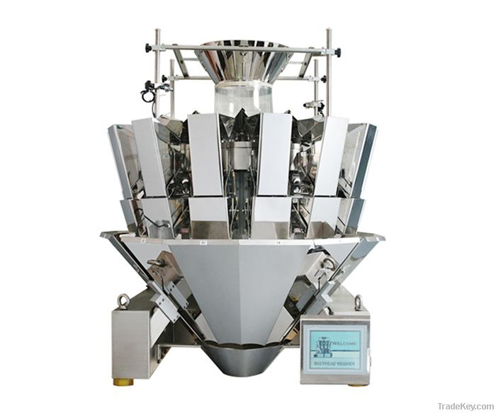 China automatic weighing and filling packaging machine for food