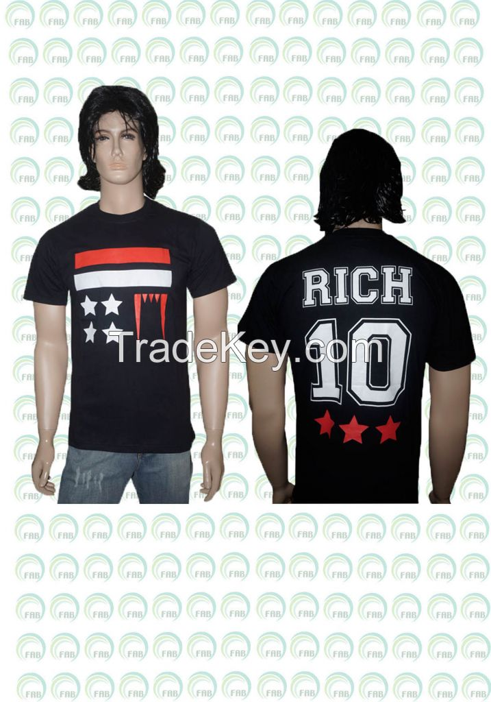 Exclusive printed T-shirts