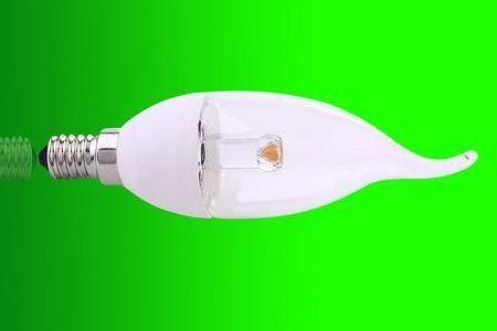 3w E14/E12  360deg clear  LED candle bulbs  (Nichia chip )