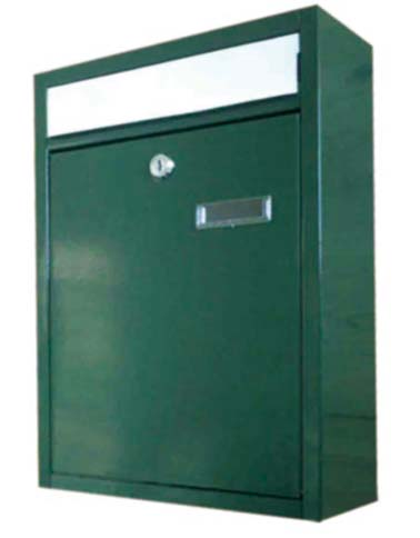 steel postbox