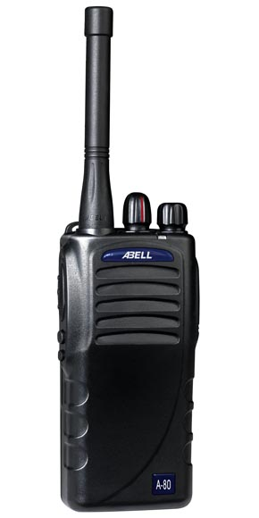 Abell  handheld two-way radio A-80 of clear voice